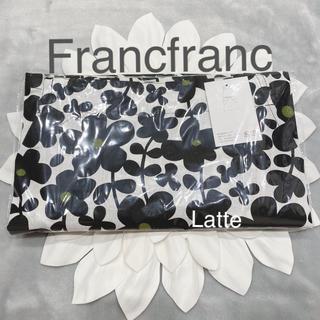 Francfranc - フランフラン エプロン セルマ ブラック 黒 新品 花柄