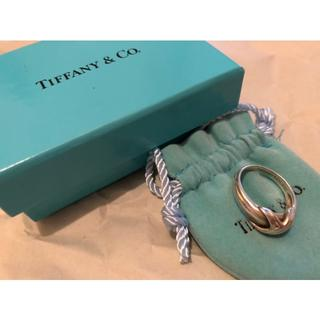 Tiffany & Co. - Tiffany ティファニー シグネチャー シルバー リング