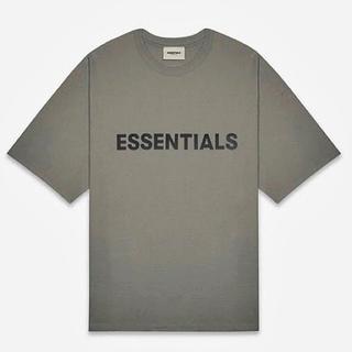 FEAR OF GOD - 新品正規品 FOG ESSENTIALS 20SS ロゴ Tシャツ チャコール