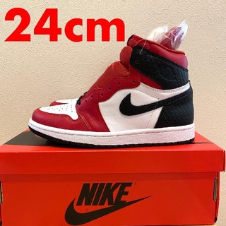 NIKE - NIKE WMNS AIR JORDAN 1 HIGH OG SATIN RED