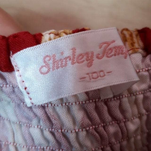 Shirley Temple(シャーリーテンプル)のシャーリーテンプル テディベアJSK 100 キッズ/ベビー/マタニティのキッズ服女の子用(90cm~)(ワンピース)の商品写真