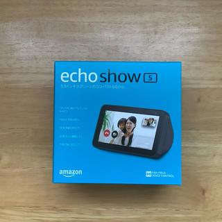 エコー(ECHO)のAmazon echo show5  美品(スピーカー)