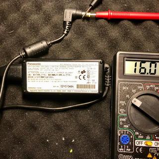 パナソニック(Panasonic)のlet's note (panasonic)用acアダプタ2個セット(PC周辺機器)