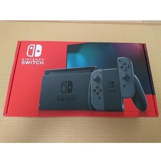 Nintendo Switch - Nintendo ニンテンドースイッチ 任天堂 グレー 新品 Switch