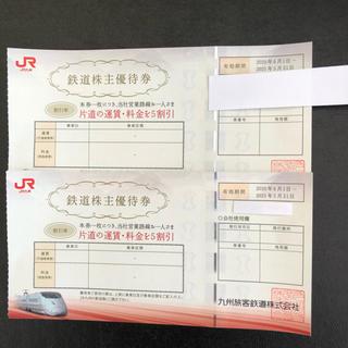 ジェイアール(JR)の JR九州株主優待券  2枚セット(その他)