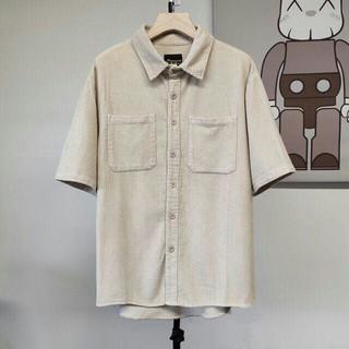 オフホワイト(OFF-WHITE)のdrewhouse Drew Corduroy SS Shirt Mサイズ(シャツ)
