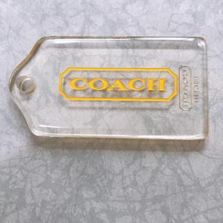 コーチ(COACH)のCOACHプレート(キーホルダー)