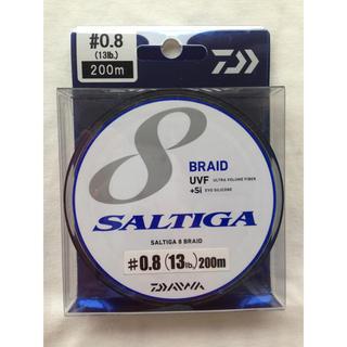 ダイワ(DAIWA)のSALTIGA 8 BRAID 0.8号 200m 13lb. 送料無料(釣り糸/ライン)