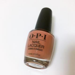 オーピーアイ(OPI)のOPI ネイルラッカー チョコレートムース(マニキュア)