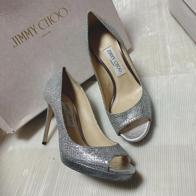 JIMMY CHOO(ジミーチュウ)の最終値下げ!JIMMY CHOO シンデレラ パンプス クリスチャンルブタン レディースの靴/シューズ(ハイヒール/パンプス)の商品写真