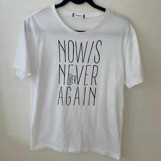 ウィゴー(WEGO)のWEGO  ペンシルロゴTシャツ M  メンズ(Tシャツ/カットソー(半袖/袖なし))