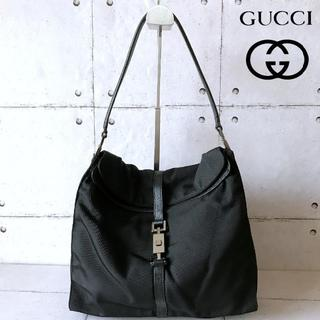 Gucci - 極美品 GUCCI ショルダーバッグ 黒 ハンドバッグ グッチ