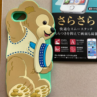 ダッフィー(ダッフィー)のiPhone ダッフィー  iPhoneSE iphone5s  シリコン(iPhoneケース)