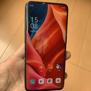 ANDROID - OPPO Find X SIMフリー 訳あり動作品