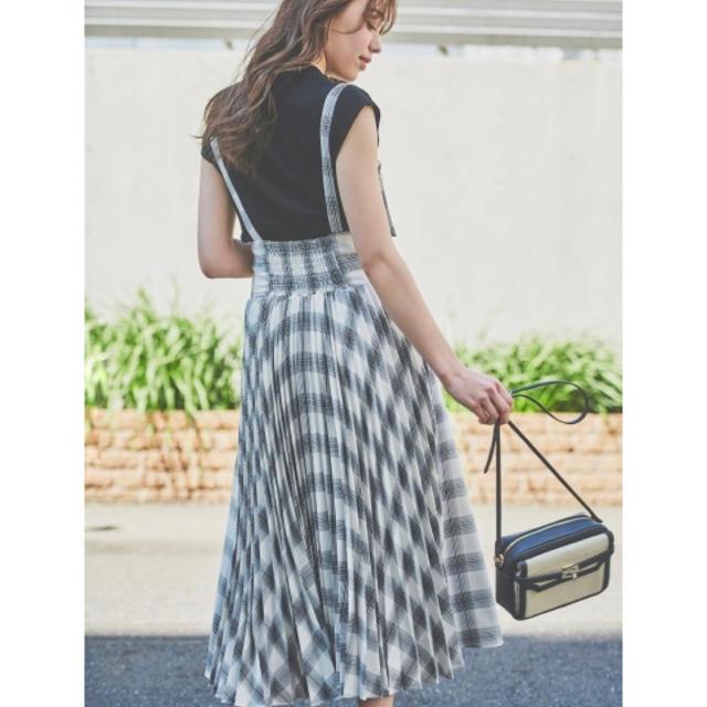Noela(ノエラ)のノエラ バックプリーツサス付きスカート レディースのスカート(ロングスカート)の商品写真