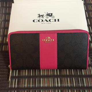 COACH - 新品★COACH 財布 コーチ 長財布  アウトレット正規品✨箱付き🎀