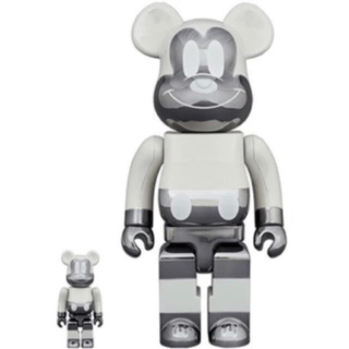 メディコムトイ(MEDICOM TOY)のBE@RBRICK MICKEY MOUSE REVERSE 100%&400%(その他)