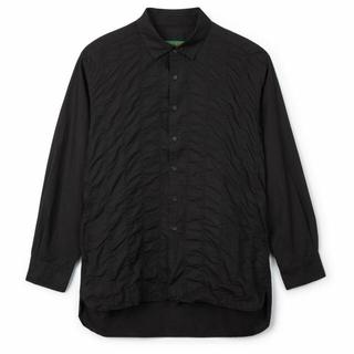 ポールハーデン(Paul Harnden)のCASEY CASEY ペーパーコットンシャツ Sサイズ 20SS(シャツ)