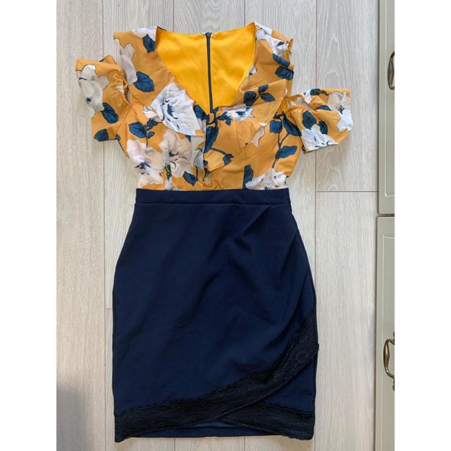 JEWELS(ジュエルズ)の花柄 キャバドレスJEWELS レディースのフォーマル/ドレス(ミニドレス)の商品写真