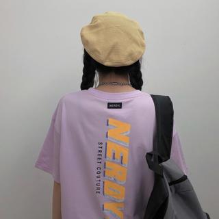 ゴゴシング(GOGOSING)のノルディー nerdy Tシャツ ピンク 紫 パープル(Tシャツ(半袖/袖なし))