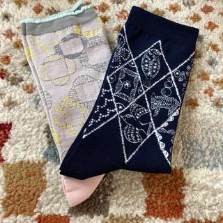 ミナペルホネン(mina perhonen)のミナペルホネン❤️新品未使用 靴下セット(ソックス)