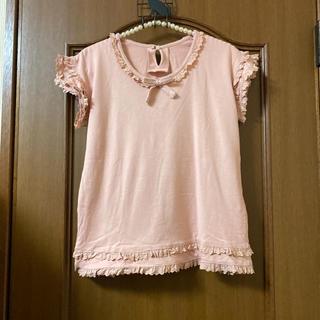 PINK HOUSE - 美品WONDERFUL WORLDの可愛い半袖TシャツサイズF