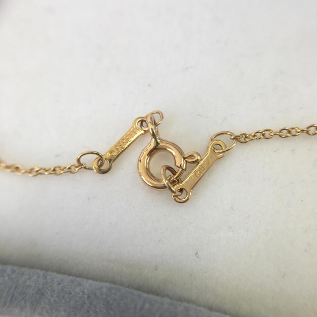 Tiffany & Co.(ティファニー)の☆美品☆TIFFANY&Co. ティファニー バイザヤードネックレス レディースのアクセサリー(ネックレス)の商品写真
