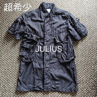 ユリウス(JULIUS)の超希少 JULIUS ガスマスク 半袖シャツ ユリウス ミリタリーシャツ(シャツ)