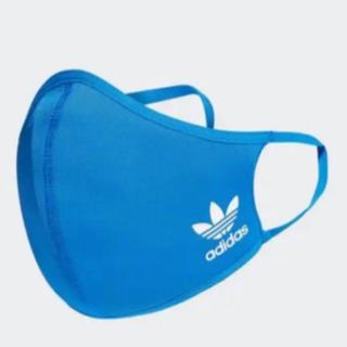 アディダス(adidas)のアディダス フェイスカバー 大人用 1枚 ブルー(トレーニング用品)
