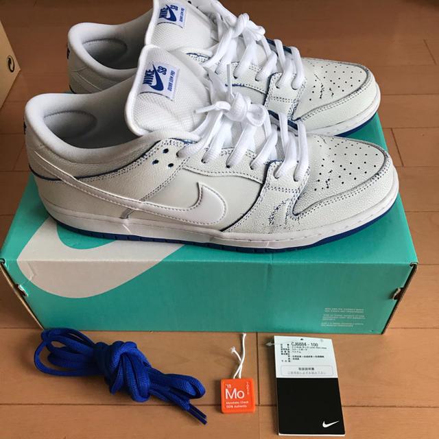 NIKE(ナイキ)のNIKE SB DUNK LOW PRO gameroyal メンズの靴/シューズ(スニーカー)の商品写真