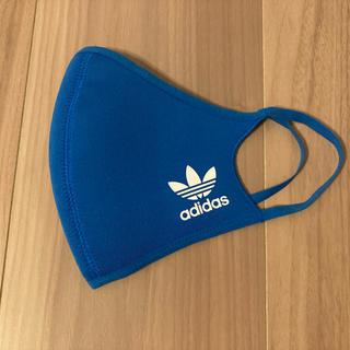 アディダス(adidas)のアディダス スポーツ用フェイスカバー 大人用サイズ  青1枚(トレーニング用品)