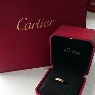 Cartier - Cartier LOVE ウェディング 1P ダイヤリング試着のみ