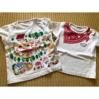 familiar - ファミリア Tシャツ 90
