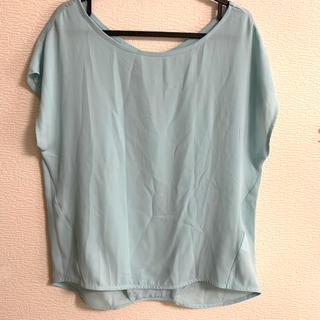 ピンクアドべ(PINK ADOBE)のpink adobe/とろみシャツ(シャツ/ブラウス(半袖/袖なし))