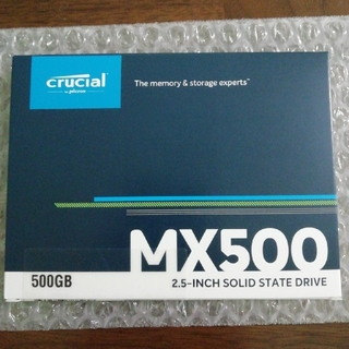 【新品】Crucial SSD 500GB CT500MX500SSD1JP
