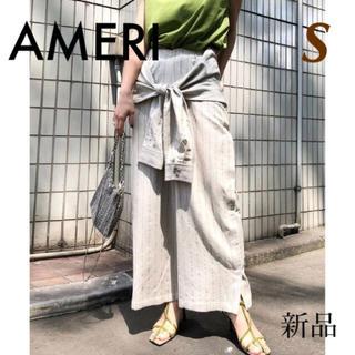 Ameri VINTAGE - 定1.8万✱アメリ AMERI✱シャツ スリーブ タイアップ パンツ