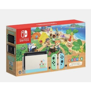 Nintendo Switch - 新品未使用  任天堂 Switch スイッチ 本体 どうぶつの森セット