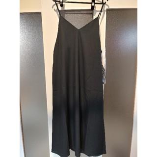 GU - キャミソールワンピース GU  ジーユー ダークグレー ブラック 黒