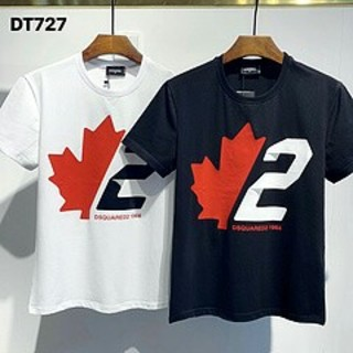 DSQUARED2 - DSQUARED2  DT727 メンズ丸みえりTシャツ