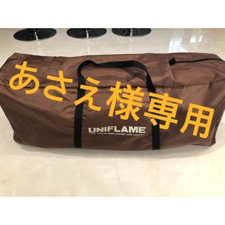 ユニフレーム(UNIFLAME)のあさえ様専用★ユニフレーム リラックスコット◉送料込み◉(寝袋/寝具)