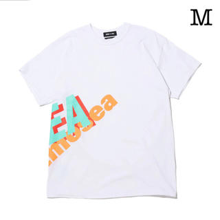 atmos x WIND AND SEA BIG LOGO TEE WHITE