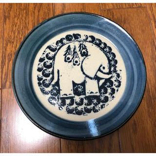 Lisa Larson - 2640円 リサラーソン お皿 象 ゾウ 食器 陶器 北欧 オシャレ 益子焼