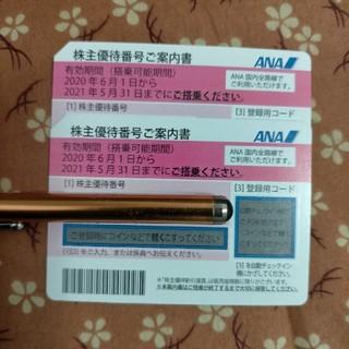 ANA(全日本空輸) - ANA株主優待×2枚当日発送します。