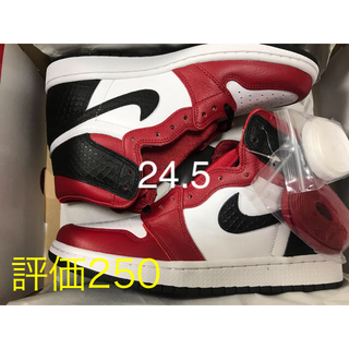 "NIKE - NIKE AIR JORDAN1 HIGH OG ""SATIN RED""24.5"