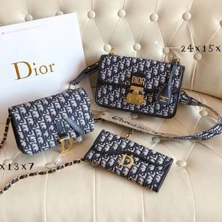 Dior - DIO.R バーバリー  ショルダーバッグ