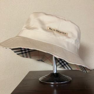 BURBERRY - バーバリー リバーシブル バケット ハット 帽子