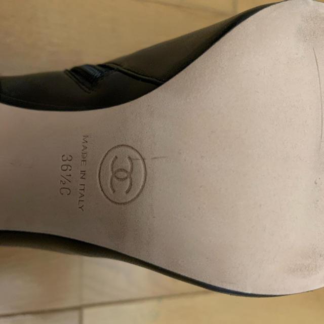 CHANEL(シャネル)のアリスさま専用CHANEL カメリア ブーツ レディースの靴/シューズ(ブーツ)の商品写真