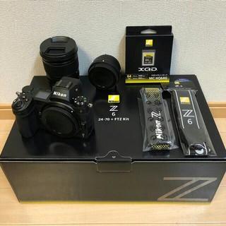 Nikon - ☆新品同様 保証有☆ ニコン Z6 24-70 FTZ 64GB XQD セット