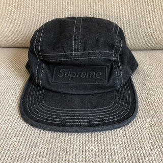 Supreme - supreme☆denim camp cap black