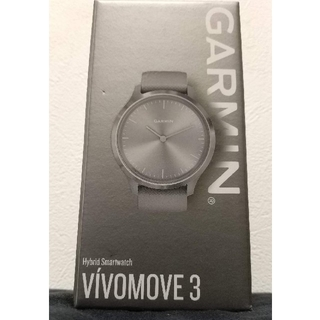 GARMIN - 【未使用】ガーミン GARMIN vivomove3 グレー/シルバー